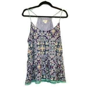 MEADOW RUE Anthropologie tank cami size large